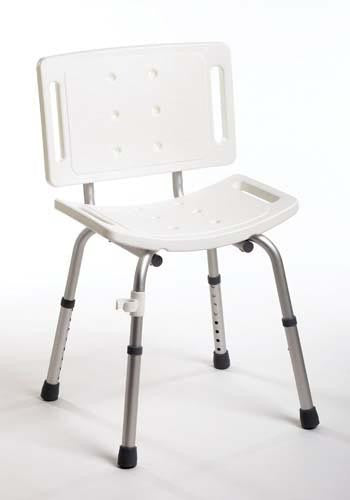 Shower Chair Assembled with Back - Accord Medical Supply