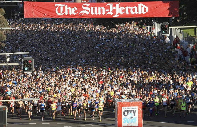 10th Aug 2014 - City2Surf