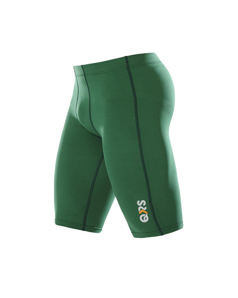 Men's Green Knee Length Short