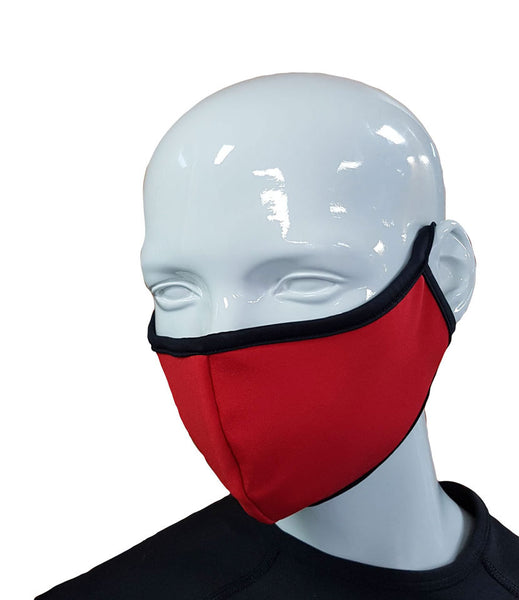 Face Mask - Red - Qty x 2