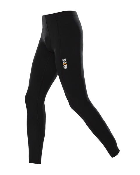 Youth Male Black Full Length Legging