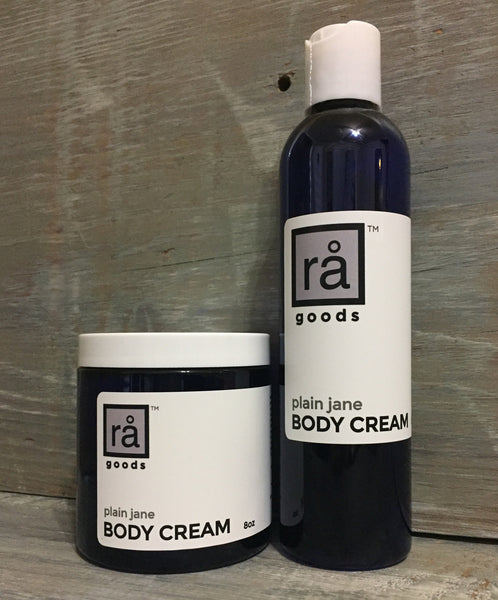 BODY CREAM plain jane - rå goods