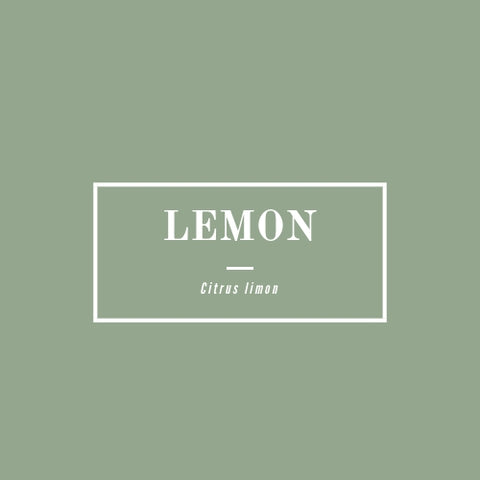 Lemon - rå goods
