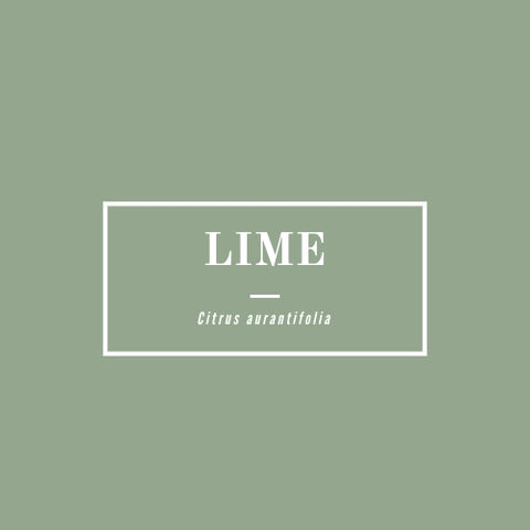 Lime (distilled) - rå goods