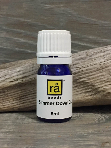 Simmer Down Jr. - Kid Safe Calming Blend - rå goods