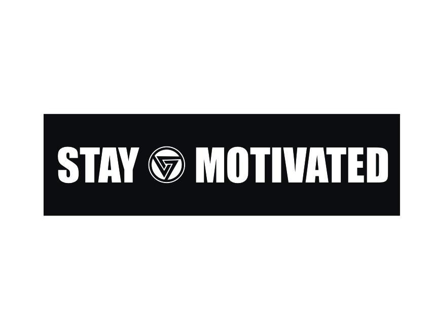 Stay Motivated Sticker