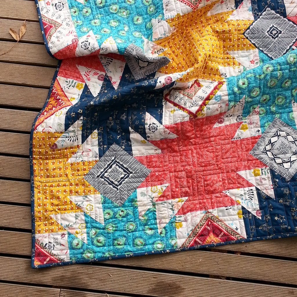 Mountain Campfire Quilt Pattern PDF