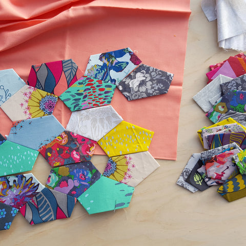 Crown (1/3 Hexagon) Paper Pieces