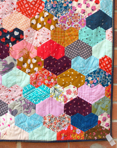 Warm Hearted Quilt PDF Pattern