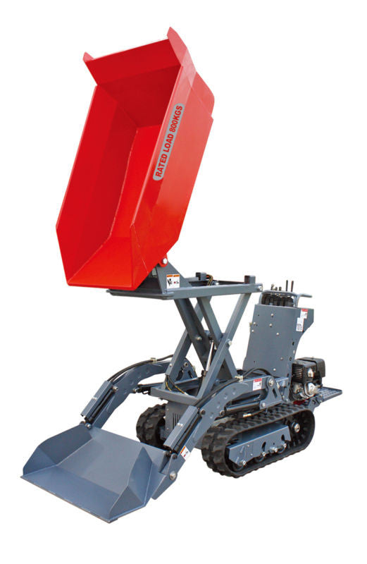 New Elevating Mini Tracked Dumper Available