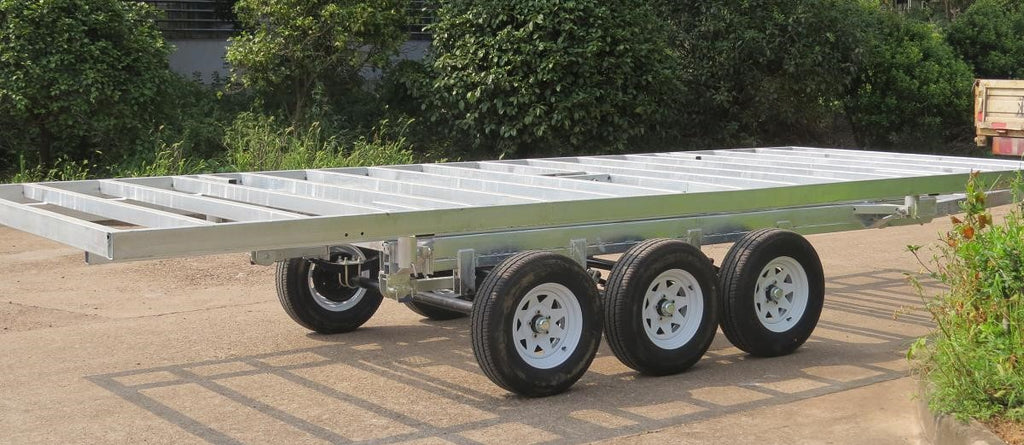 Tiny House Trailers Available (3.5T dual axle, 4.5T tri-axle)