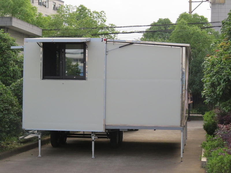 New 5.9m Expanding/Fold-out Mobile Building. 4.2m wide!