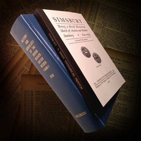 UNION, CT:  HISTORY OF UNION.  Founded on material gathered by Rev. Charles Hammond. (Hardcover)