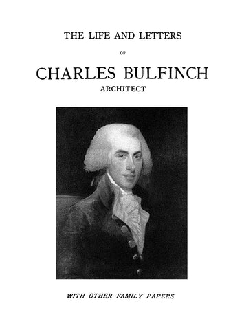 Charles Bulfinch Architect