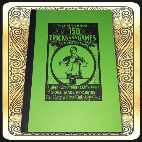 WEHMAN BROS.' NEW BOOK OF 150 PARLOR TRICKS AND GAMES (Softcover)