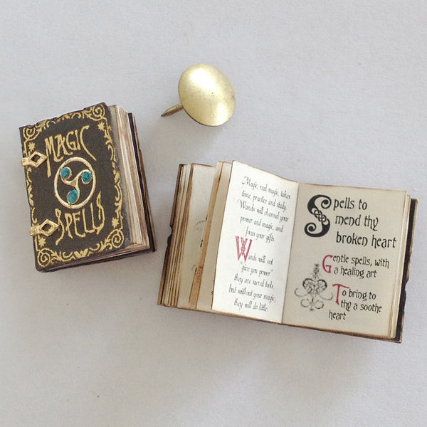Magic and Spells Book (Jewelled - Aqua)