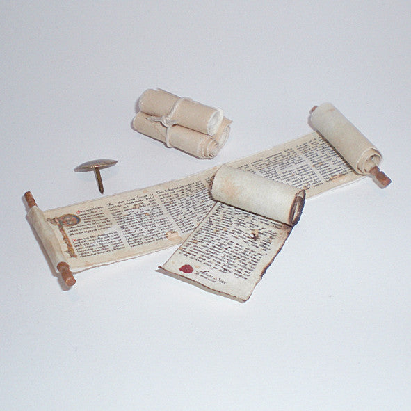 Medieval Rolls and Scrolls Replica