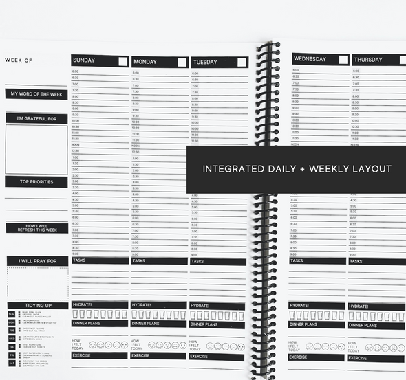 Live it Well Planner