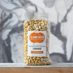 Curried Coconut Canario Beans