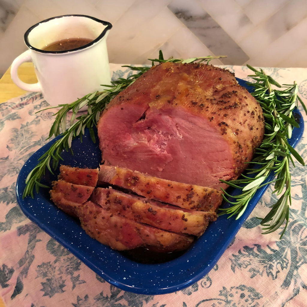 Holiday Ham Recipe From California's Historic Rancho Llano Seco | Glazed Natural Uncured Ham