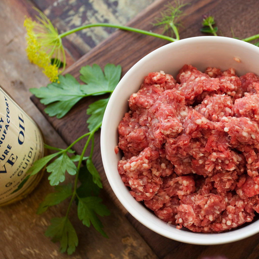 Ground Beef | Subscription Meat Box | Sustainable Meat | Ethical Ranch | California Farm | Beef