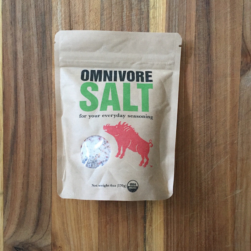 Rancho Llano Seco and Omnivore Salt