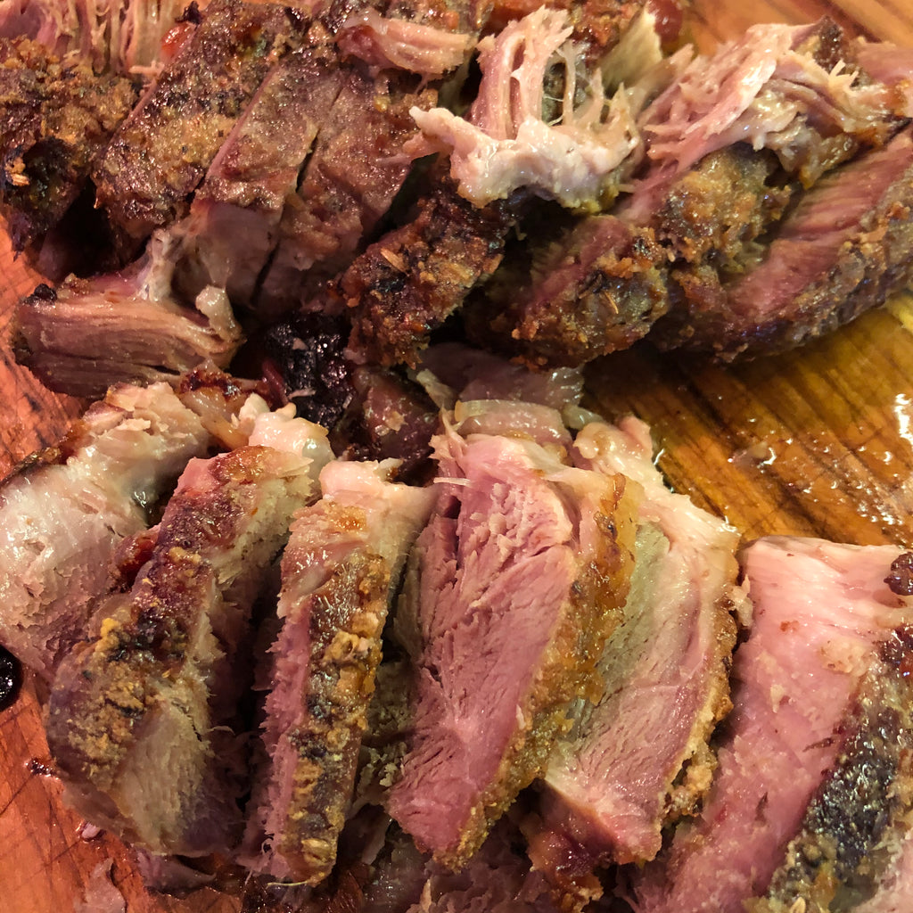 Rancho Llano Seco Pork Shoulder Roast | Heritage Pork | Fennel and Garlic Rub