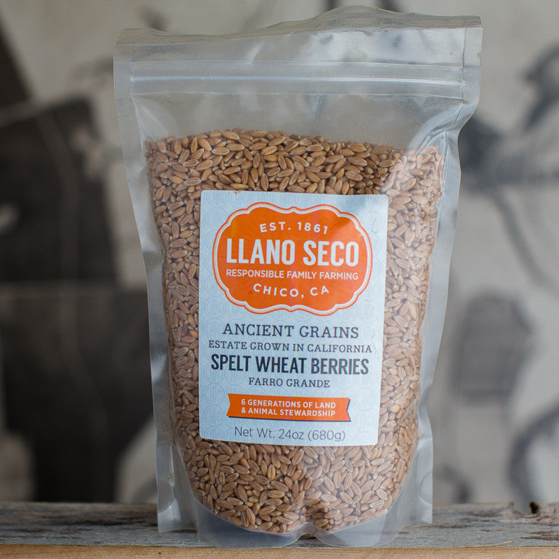 Order Spelt Wheat Berries | Buy California Ancient Grains | Estate Grown & Delivered From California's Historic Rancho Llano Seco