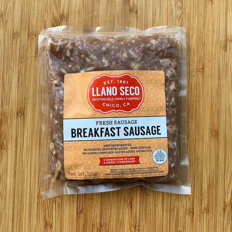 Subscription Meat Box | Breakfast Sausage | Sustainable Meat | Ethical Ranch | California Farm | Heritage Pork