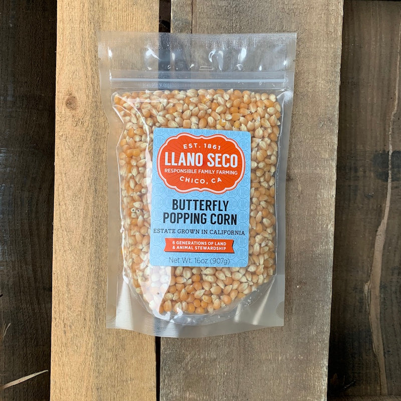 Order Heirloom Popping Corn | Estate Grown Popcorn & Ancient Grains | Delivered From California's Historic Rancho Llano Seco