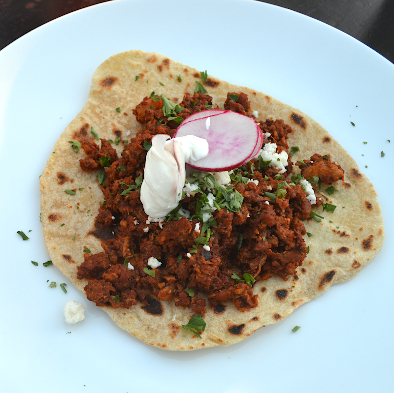 Chili Colorado Taco Meat