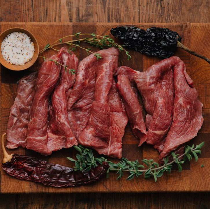 Order Grass-Fed Carne Asada Meat | Shop California's best sustainable, humanely raised beef | Historic Rancho Llano Seco | Delivered from our Sustainable Family Farm | Buy pasture raised beef