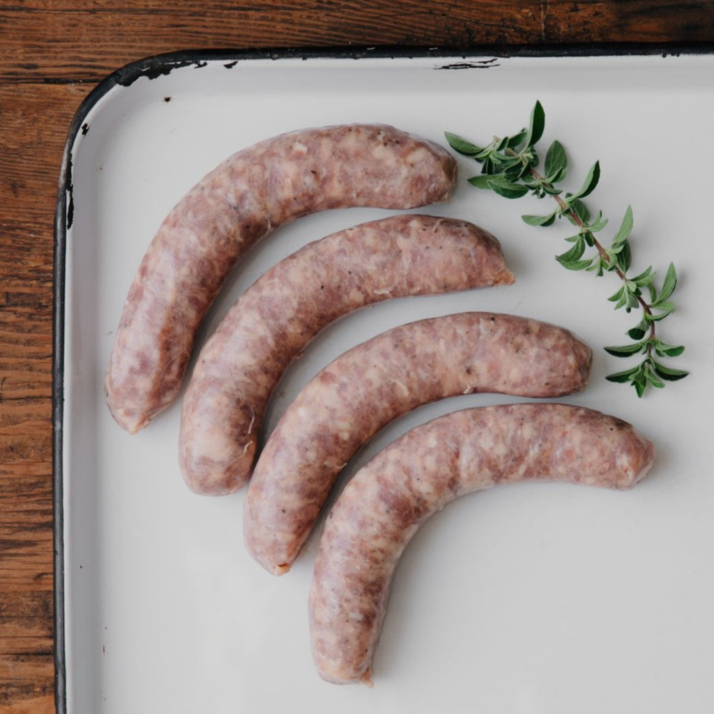 Sweet Italian Fresh Sausage Links | Order humanely raised California heritage pork | Sustainable meat delivered from our family farm