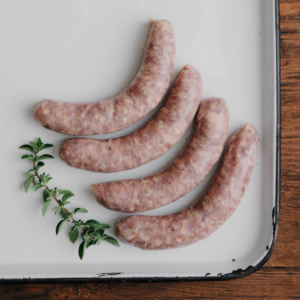 Order Sweet Italian Sausage Links | Shop humanely raised pork delivered from California's Historic Rancho Llano Seco