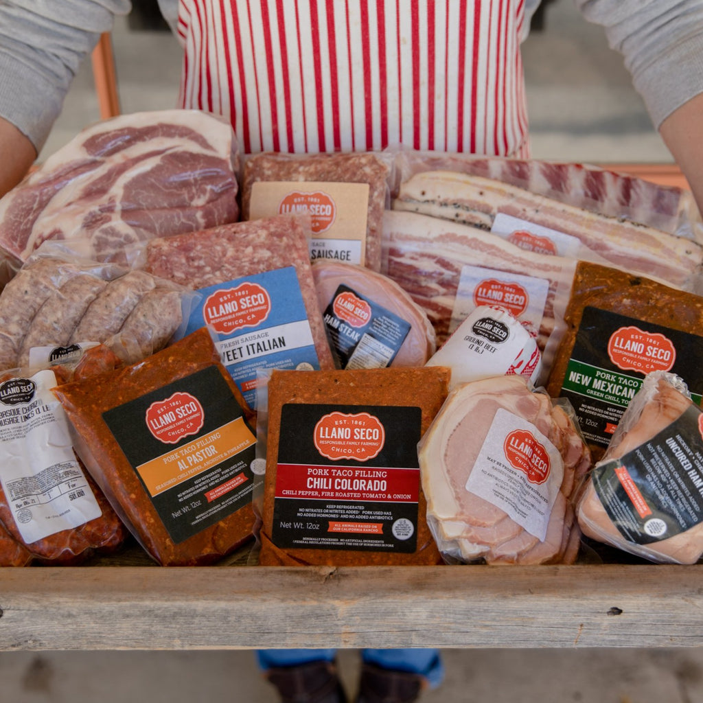 Shop The Large Rancho Family Meat Box | Order Humanely Raised California Meats | Delivered From Our Historic Sustainable Family Farm