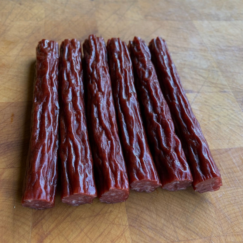 beef snack sticks | Rancho Llano Seco