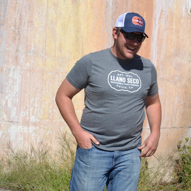 Order our classic cozy branded Rancho Llano Seco Tee for men and women. Shop Llano Seco farm gear gifts.