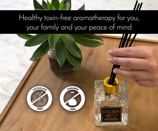 Thai Jasmine Bamboo Essential Oil Reed Diffuser