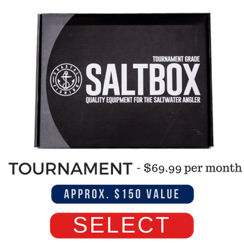 Tournament Salt Box Subscription priced at 69.99 per month