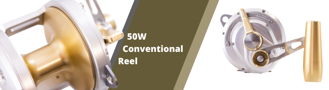50w conventional reel banner image