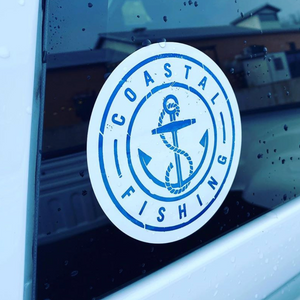 Coastal Fishing Sticker - Coastal Fishing