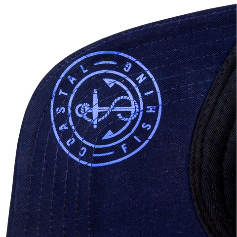 SnapBack Trucker Hat - Coastal Fishing