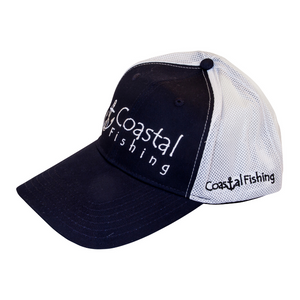 SnapBack Mesh Hat - Coastal Fishing