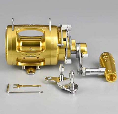 80W Conventional Fishing Reel $500 - Coastal Fishing
