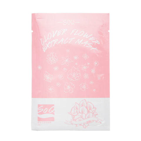 SO Q Clover Flower Extract Mask