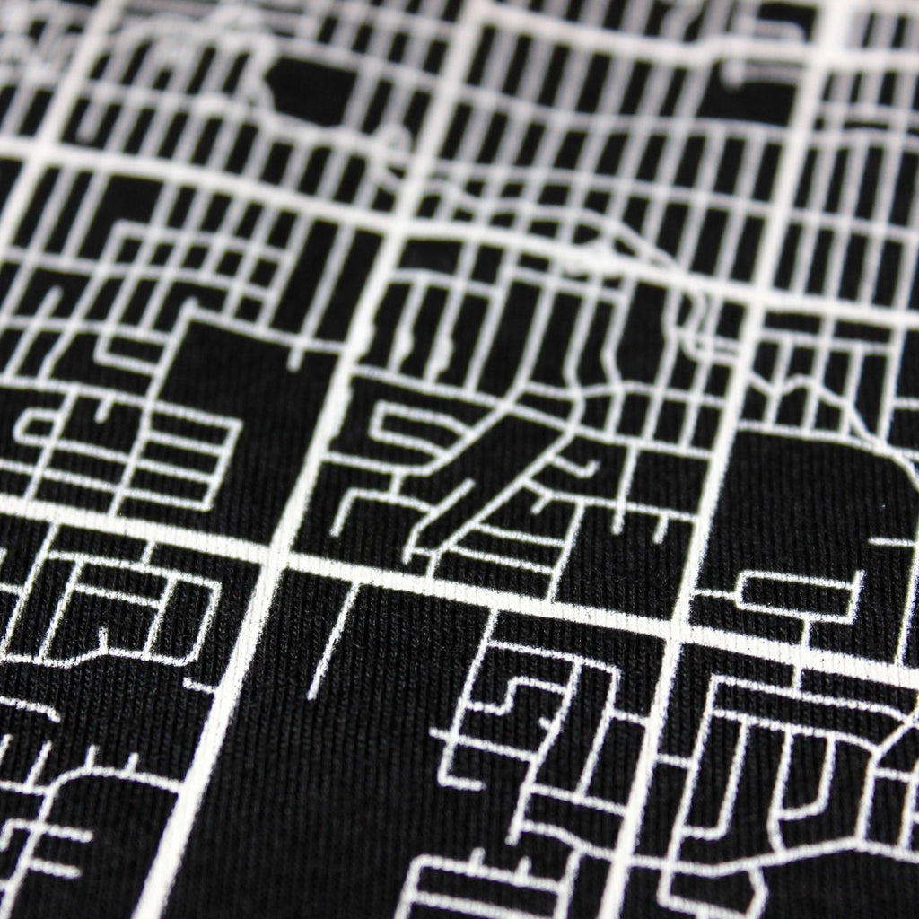 Map Tee - Black | Edmonton