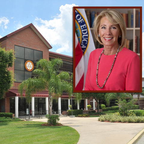 Betsy DeVos is to deliver the commencement address at Bethune-Cookman University