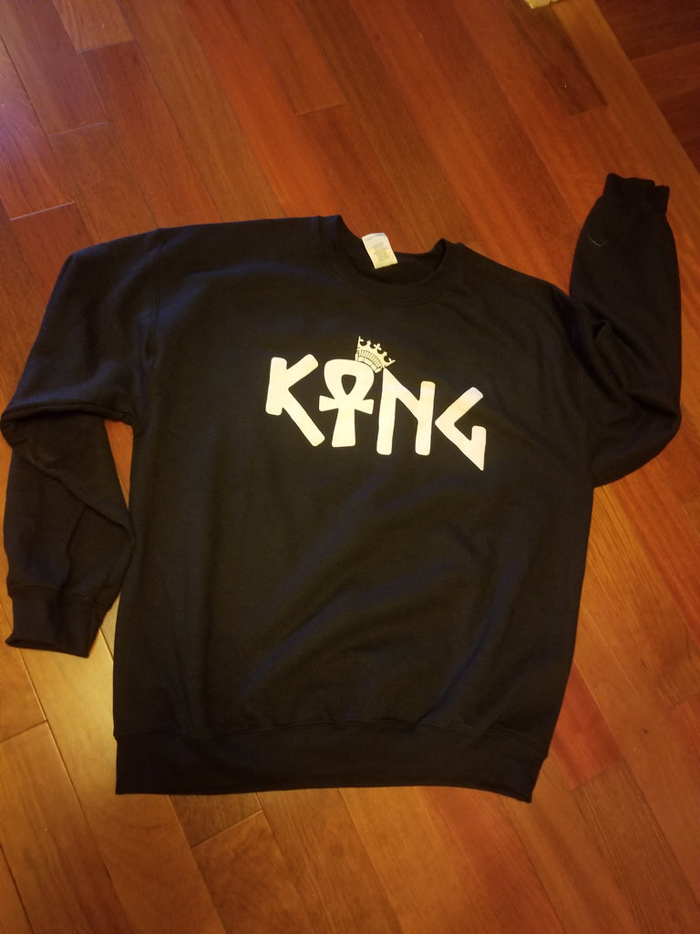King Ankh Crewneck Sweatshirt