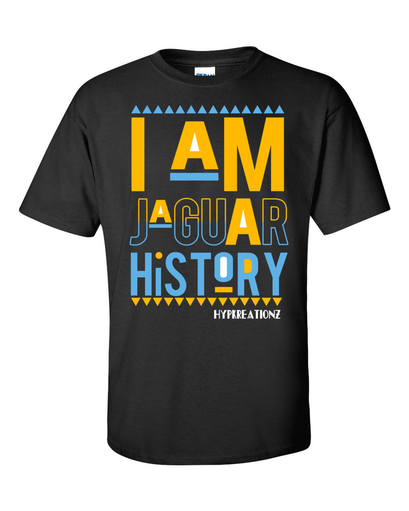 I AM JAGUAR HISTORY TEE