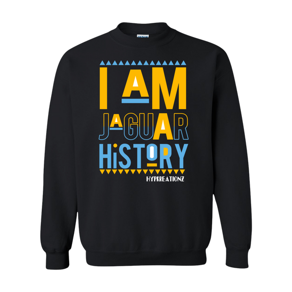 I AM JAGUAR HISTORY SWEATSHIRT